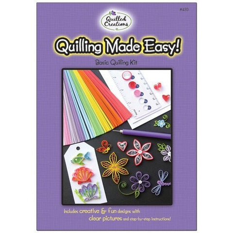 Quilling Made Easy Kit - Hands Craft Store
