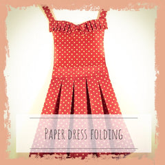 33. Paper Dress Wall Hanging - Hands Craft Store
