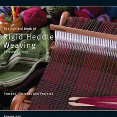 Ashford Book of Rigid Heddle Weaving - Hands Craft Store