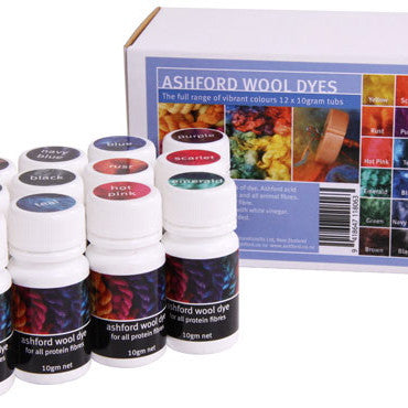 Wool Dye Collection Ashford - Hands Craft Store