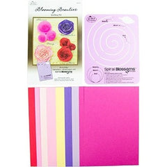 Quilling Blooming Beauties  Kit - Hands Craft Store