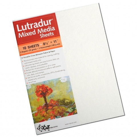 Lutradur Mixed Media Sheets - Hands Craft Store
