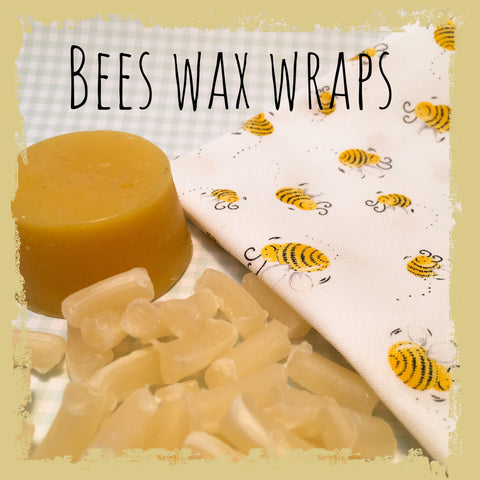 7,8,9. Beeswax. Food wrap and picnic bag. Class - Hands Craft Store