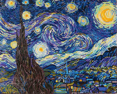 Diamond Dotz ~ Starry Night (Van Gogh) - Hands Craft Store