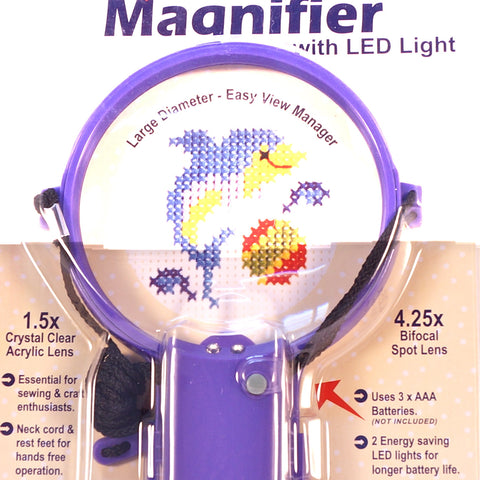 Neck Magnifying Glass with LED Light - Hands Craft Store