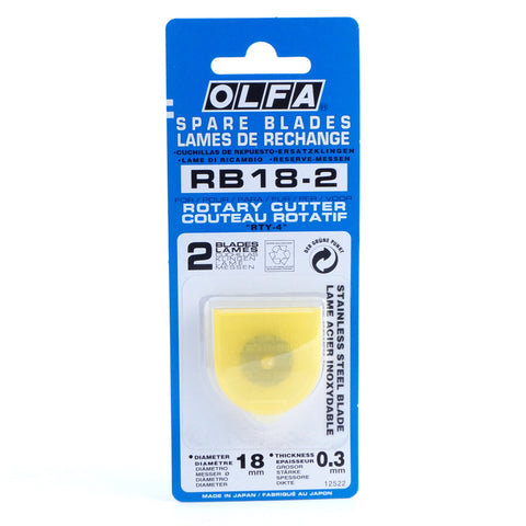 Olfa Rotary Cutter Blades - Various Sizes - Hands Craft Store