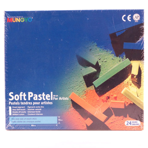 Mungyo Soft Pastels Set of 24 - Hands Craft Store