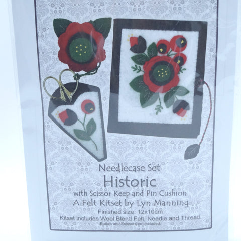Needlecase Felt Kitset - Historic - Hands Craft Store