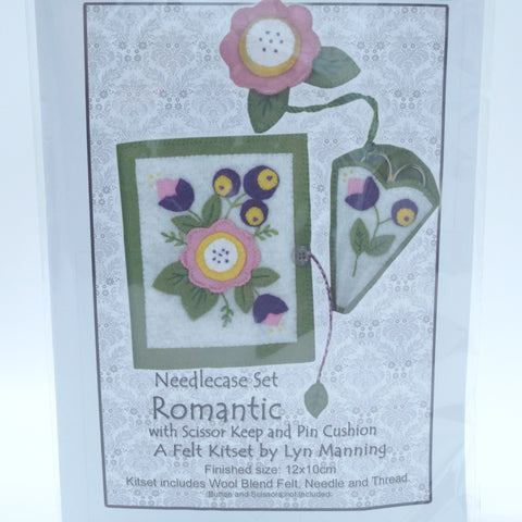 Needlecase Felt Kitset - Romantic - Hands Craft Store