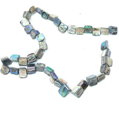 Paua Shell Square Beads - Hands Craft Store