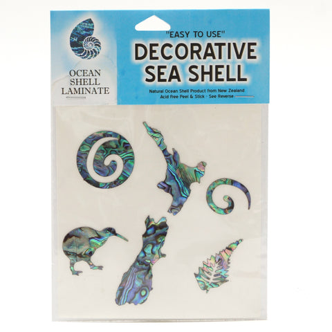 Paua Ocean Shell Laminate - New Zealand - Hands Craft Store