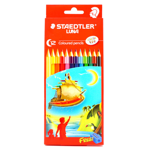 Staedtler Luna Coloured Pencil Set of 12 - Hands Craft Store