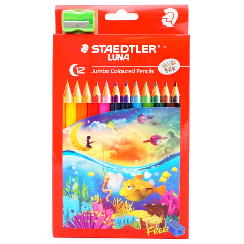 Staedtler Luna Jumbo Coloured Pencils - Hands Craft Store
