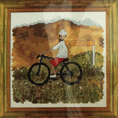 Hyde Cycle Trail Cross Stitch Kit - Hands Craft Store