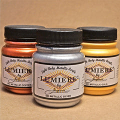 Jacquard Lumiere Metallic Acrylic Paints - Hands Craft Store