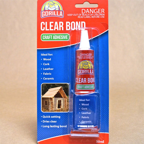 Gorilla Clear Bond Craft Adhesive - Hands Craft Store