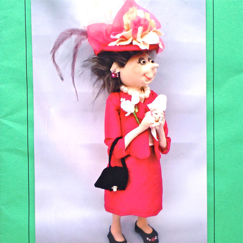 Jill Maas Doll Patterns - Mother of the Bride - Hands Craft Store