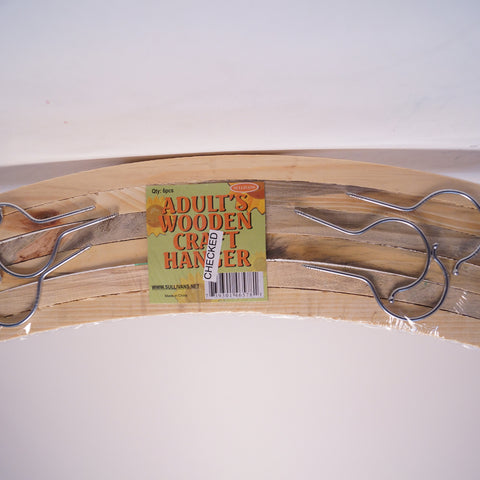 Hangers Adult's Wooden Craft - Hands Craft Store