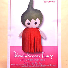 Felt Doll Patterns - Pohutukawa Fairy - Hands Craft Store