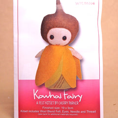 Felt Doll Patterns - Kowhai Fairy - Hands Craft Store