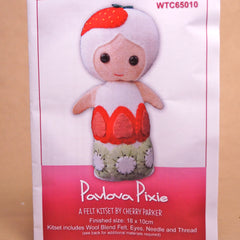 Felt Doll Patterns - Pavlova Pixie - Hands Craft Store