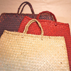 Flax Kete Bag - Medium Shopping Bag