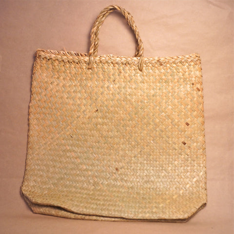 Flax Kete Bag - Medium Shopping Bag - Hands Craft Store