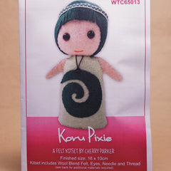 Felt Doll Patterns - Koru Pixie - Hands Craft Store