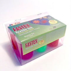 Fastex Textile Set 6x30ml - Hands Craft Store