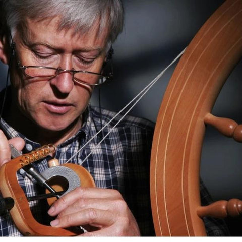 Learn to spin on an Ashford Traditional spinning wheel. - Hands Craft Store