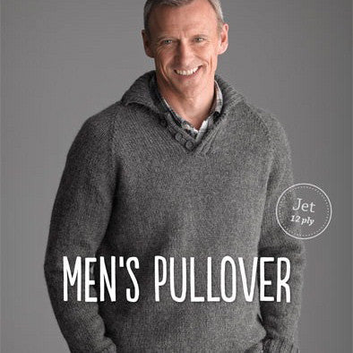 Patons Men's Pullover - Hands Craft Store