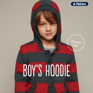 Patons Boy's Hoodie - Hands Craft Store
