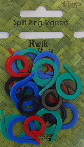 Kwik Knit Split Ring Knitting Markers