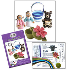 Miniatures 101 Quilling Kit - Hands Craft Store