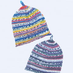 Opal Yarn Pattern -Pixie Hat