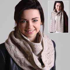 Lace Cowl and Scarf