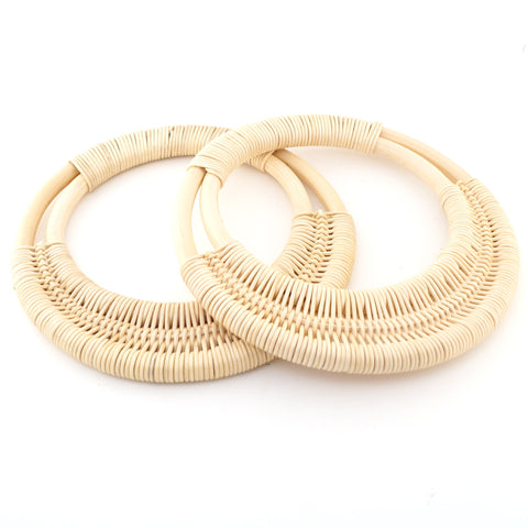 Rattan Bag Handles - Natural - Hands Craft Store