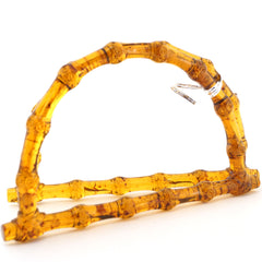 Resin Bag Handles - Tortoise Shell Style - Hands Craft Store