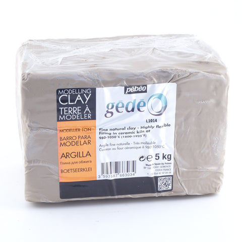 Clay Pebeo Gede Modelling 5kg - Hands Craft Store