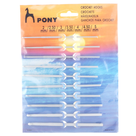 Pony Crochet Hook Set - Hands Craft Store