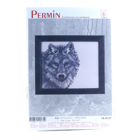Permin Scandinavian Art Needlework - Wolf - Hands Craft Store
