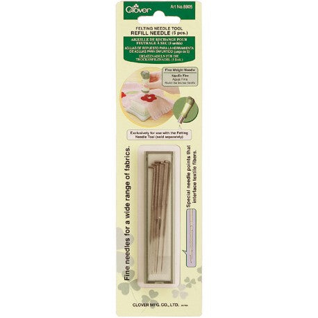 Clover Needle Felting Tool - Refill Pack - Hands Craft Store
