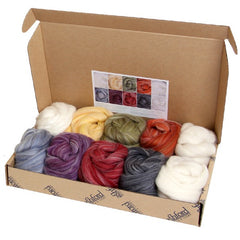 Ashford alpaca/merino sample packs