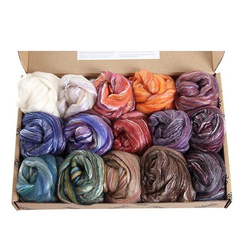 Ashford Silk/Merino sample packs - Hands Craft Store
