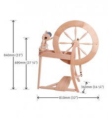 Traditional Spinning Wheel - Double Drive - Ashford