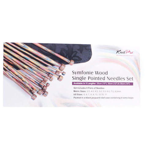 Knit Pro Symfonie Wood Single Pointed Needles Set - Hands Craft Store