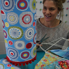 Art classes Christchurch Lampshade Making - Basic Drum (Class 16) - Hands Craft Store