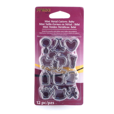Sculpey Mini Metal Cutters - Baby - Hands Craft Store