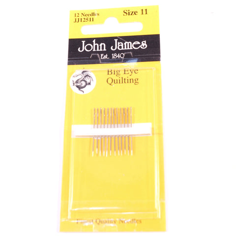 John James Quilting Needles Size 11 - Hands Craft Store