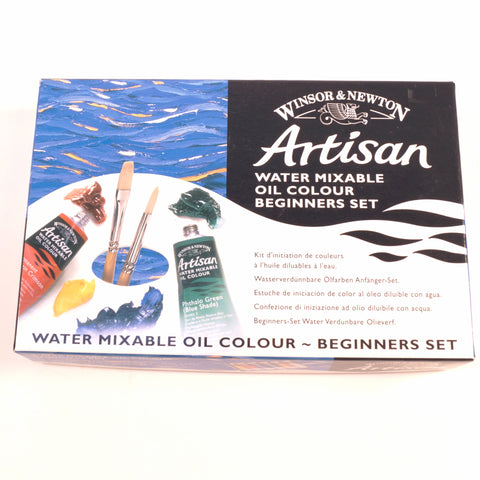 Windsor & Newton Artisan Oil Paint Beginners Set - Hands Craft Store